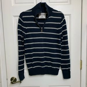 ☀️3/$15 Men's Quarter Zip Sweater